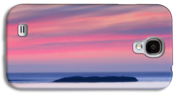 Surreal Landscape Galaxy S4 Cases - Sunset Bay Pastels II Galaxy S4 Case by Mark Kiver
