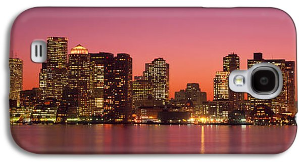 Reflections Of Sky In Water Galaxy S4 Cases - Sunset Boston Ma Galaxy S4 Case by Panoramic Images
