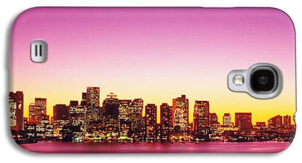 Sunset, Boston, Massachusetts, Usa Galaxy S4 Case by Panoramic Images