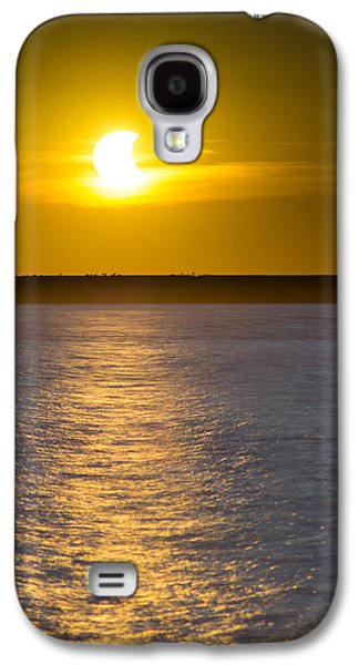 Mystic Setting Galaxy S4 Cases - Sunset Eclipse Galaxy S4 Case by Chris Bordeleau