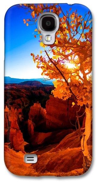 Americans Galaxy S4 Cases - Sunset Fall Galaxy S4 Case by Chad Dutson