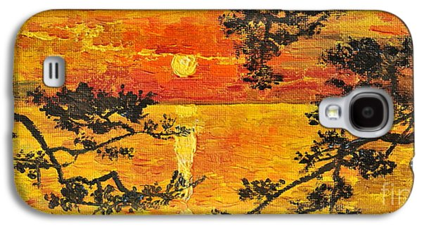 Waterscape Galaxy S4 Cases - Sunset For My Parents Galaxy S4 Case by Teresa Wegrzyn