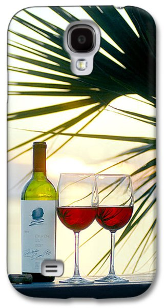 Napa Valley Vineyard Galaxy S4 Cases - Sunset for Two Galaxy S4 Case by Jon Neidert
