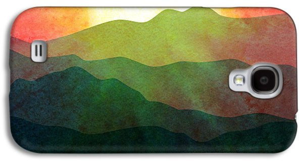 """""""digital Abstract"""" Galaxy S4 Cases - Sunset Hills Galaxy S4 Case by Gary Grayson"""