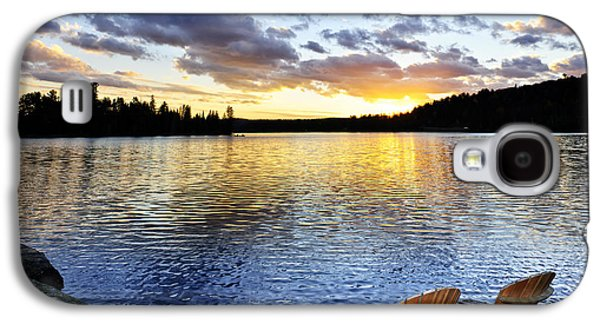 Sunset In Algonquin Park Galaxy S4 Case by Elena Elisseeva