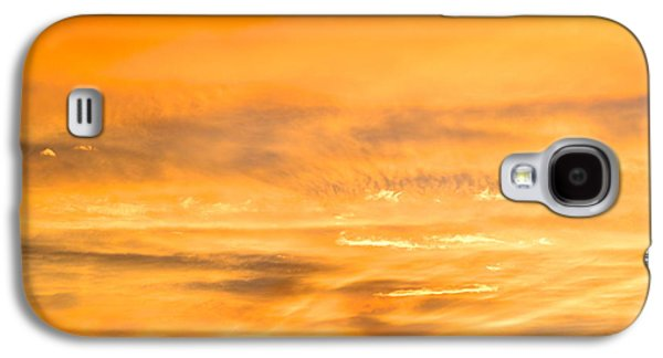 Universities Pyrography Galaxy S4 Cases - Sunset in Arizona Galaxy S4 Case by Robert Wheeler