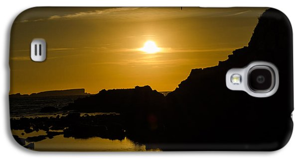 Consumerproduct Galaxy S4 Cases - Sunset in Baleal Beach Galaxy S4 Case by Alexandre Martins