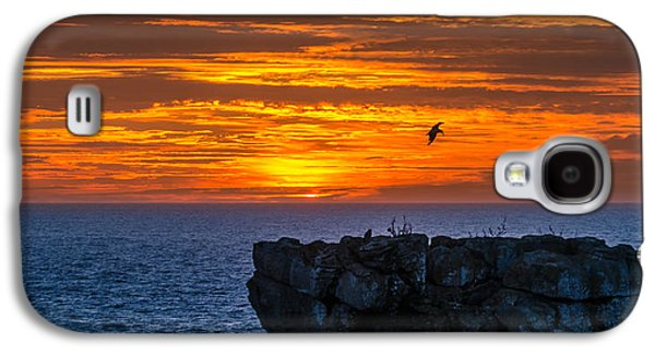 Consumerproduct Galaxy S4 Cases - Sunset in Cabo Carvoeiro I Galaxy S4 Case by Alexandre Martins