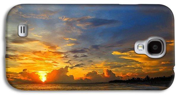 Amazing Sunset Galaxy S4 Cases - Sunset In Paradise - Beach Photography by Sharon Cummings Galaxy S4 Case by Sharon Cummings