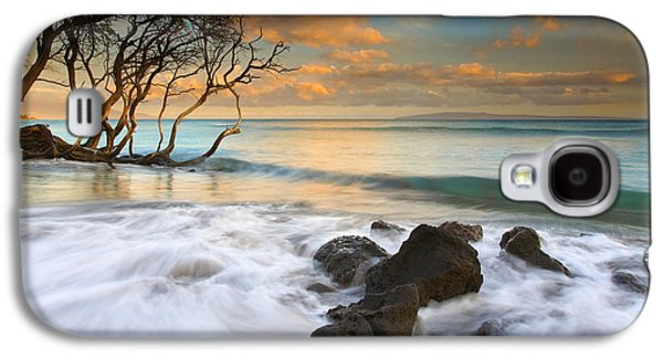Beach Sunsets Galaxy S4 Cases - Sunset in Paradise Galaxy S4 Case by Mike  Dawson