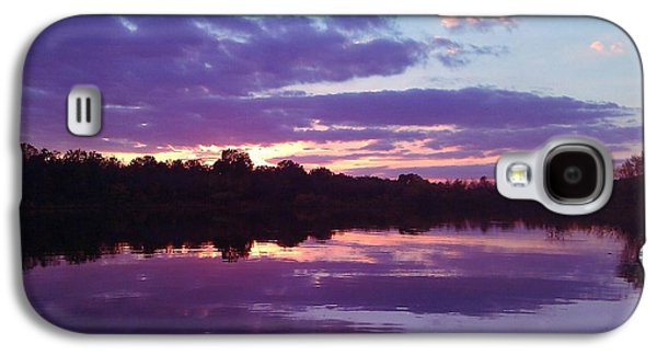 R. Mclellan Photography Galaxy S4 Cases - Sunset in Purple Galaxy S4 Case by R McLellan