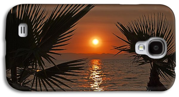 View Pyrography Galaxy S4 Cases - Sunset Galaxy S4 Case by Jelena Jovanovic