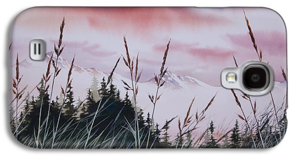 Sunset Greeting Cards Galaxy S4 Cases - Sunset Landscape Galaxy S4 Case by James Williamson