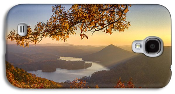 Tennessee Farm Galaxy S4 Cases - Sunset Light Galaxy S4 Case by Debra and Dave Vanderlaan