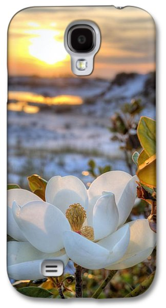 Florida Panhandle Galaxy S4 Cases - Sunset Magnolia Galaxy S4 Case by JC Findley