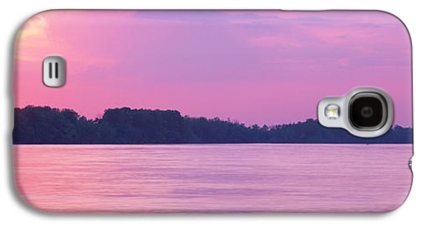 Tn Galaxy S4 Cases - Sunset Mississippi River Memphis Tn Usa Galaxy S4 Case by Panoramic Images