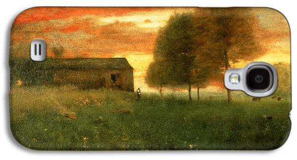 Sunset, Montclair, 1892 Galaxy S4 Case by George Snr. Inness