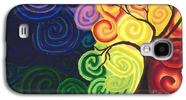 Resurrecting Drawings Galaxy S4 Cases - Sunset Moonrise Galaxy S4 Case by J M Lister