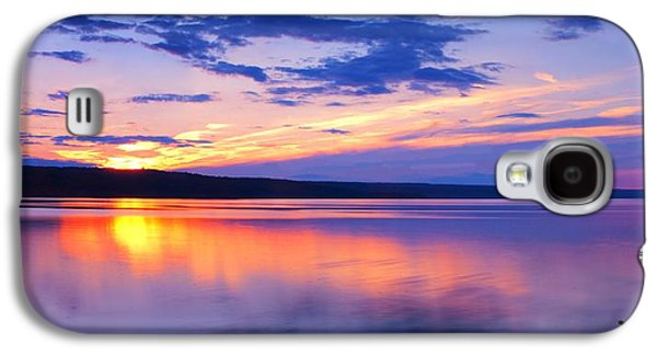 Ithaca Galaxy S4 Cases - Sunset On Cayuga Lake IV Ithaca New York Galaxy S4 Case by Paul Ge
