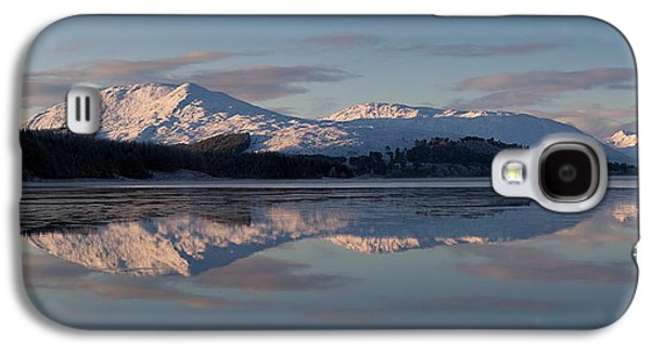 Highlands Digital Art Galaxy S4 Cases - Sunset on Crianlarich Galaxy S4 Case by Pat Speirs
