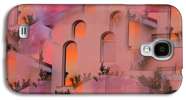 Amazing Sunset Galaxy S4 Cases - Sunset on Houses Galaxy S4 Case by Augusta Stylianou