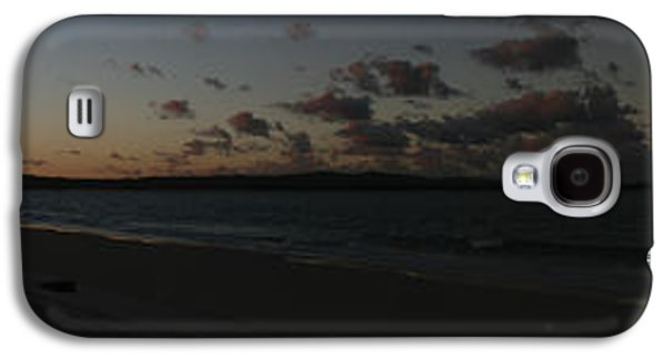 Beach Landscape Galaxy S4 Cases - Sunset on Inskip Galaxy S4 Case by Michael James