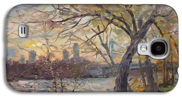 Sunset On Niagara River  Galaxy S4 Case by Ylli Haruni