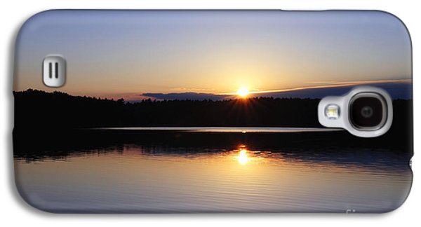 Concord Galaxy S4 Cases - Sunset On Walden Pond Galaxy S4 Case by John Greim