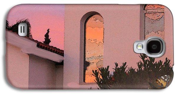 Amazing Sunset Galaxy S4 Cases - Sunset on Windows Galaxy S4 Case by Augusta Stylianou