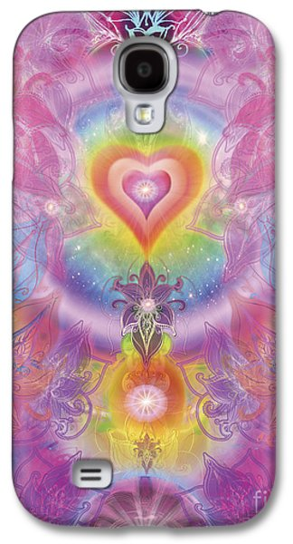 Sunset Orchid Galaxy S4 Case by Alixandra Mullins