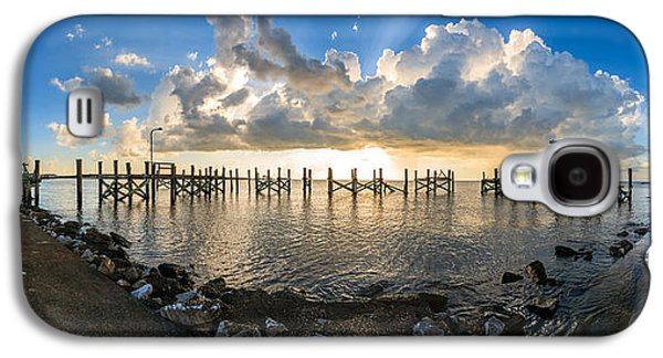 Louisiana Photographs Galaxy S4 Cases - Sunset Over A Lake, Lake Pontchartrain Galaxy S4 Case by Panoramic Images