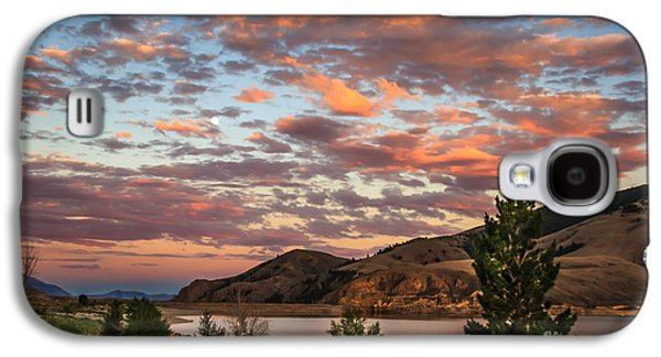 Evening Scenes Photographs Galaxy S4 Cases - Sunset Over Mackay Galaxy S4 Case by Robert Bales