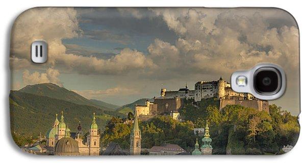 Salzburg Galaxy S4 Cases - Sunset over Salzburg Galaxy S4 Case by Chris Fletcher