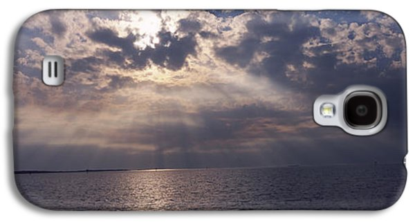 Cedar Key Galaxy S4 Cases - Sunset Over The Sea, Gulf Of Mexico Galaxy S4 Case by Panoramic Images