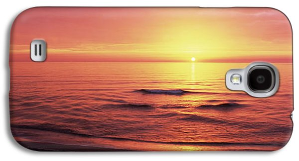 Sunset Over The Sea, Venice Beach Galaxy S4 Case by Panoramic Images