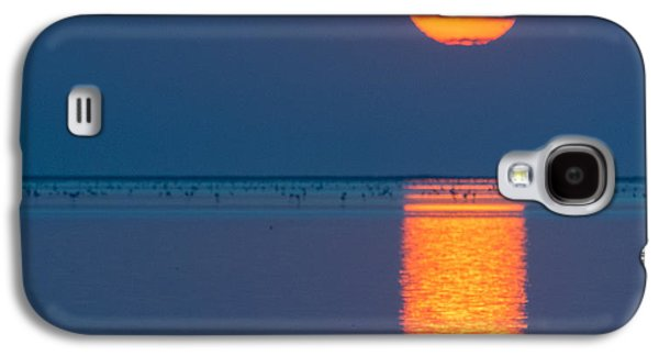 Sun Galaxy S4 Cases - Sunset Over Walvis Bay Galaxy S4 Case by Duane Miller