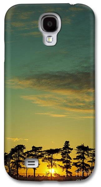 Sunset Pines Galaxy S4 Case by Paul Grand