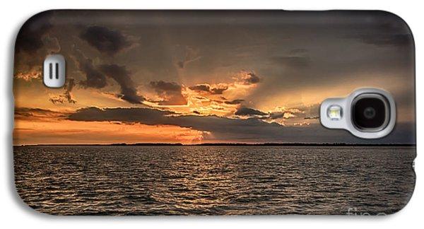 Transportation Photographs Galaxy S4 Cases - Sunset Galaxy S4 Case by Rostislav Bychkov