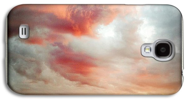 Sunset Abstract Galaxy S4 Cases - Sunset sky Galaxy S4 Case by Les Cunliffe