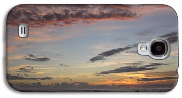 Elizabeth Carr Galaxy S4 Cases - Sunset Stroll Galaxy S4 Case by Elizabeth Carr