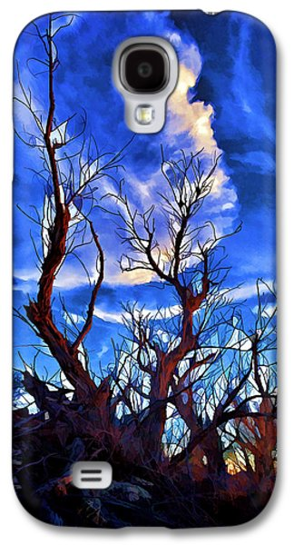 Photo Manipulation Galaxy S4 Cases - Sunset Trees at Sandhills SP Galaxy S4 Case by Bill Caldwell -        ABeautifulSky Photography