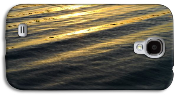 Sunset Abstract Galaxy S4 Cases - Sunset Waves Galaxy S4 Case by Laura  Fasulo