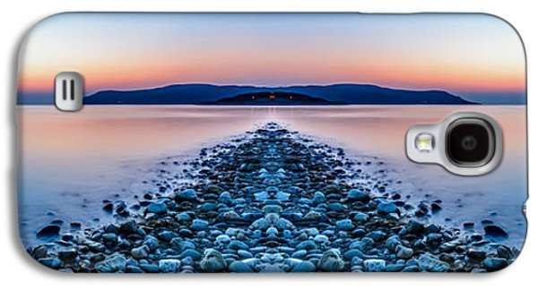 Sun Galaxy S4 Cases - Sunset Way Galaxy S4 Case by Adrian Evans