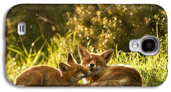 Bonding Galaxy S4 Cases - Sunshower Galaxy S4 Case by Roeselien Raimond