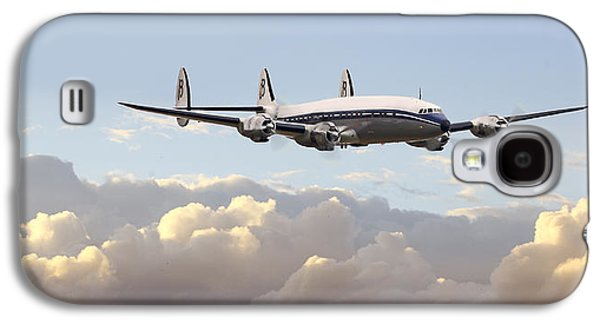 Airliner Galaxy S4 Cases - Super Constellation - End of an Era Galaxy S4 Case by Pat Speirs