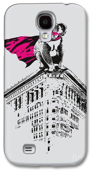 Pink Digital Art Galaxy S4 Cases - Super K Galaxy S4 Case by Budi Satria Kwan