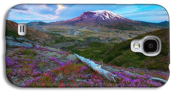 Landscape Metal Prints Galaxy S4 Cases - Super Moon Glow Galaxy S4 Case by Darren  White