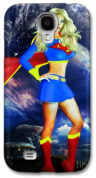 Supergirl Galaxy S4 Case by Alicia Hollinger
