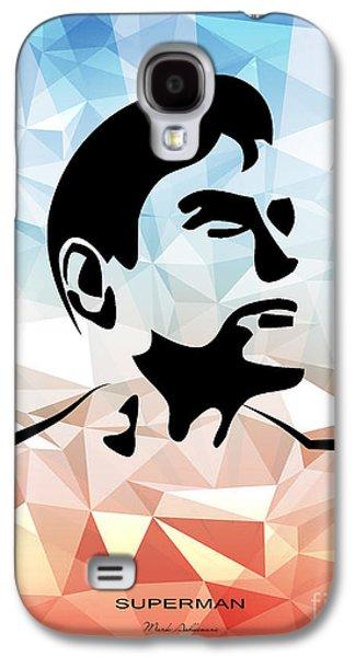 Superman 10 Galaxy S4 Case by Mark Ashkenazi