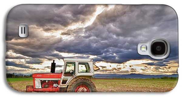 Tractor Prints Galaxy S4 Cases - Superman Skies Galaxy S4 Case by James BO  Insogna